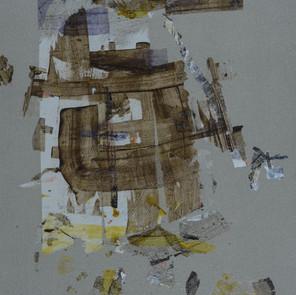 """Acrylic on canvas  38"""" x 19"""""""