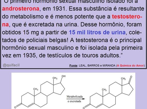 Hormônios Sexuais Masculinos