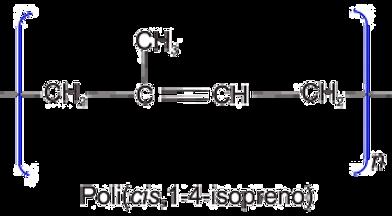 poli(cis,1-4-isopreno)