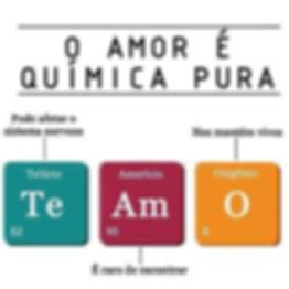 O amor é química pura