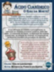 Informações sobre o ácido cianídrico