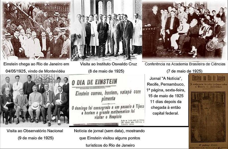 Albert Einstein no Brasil