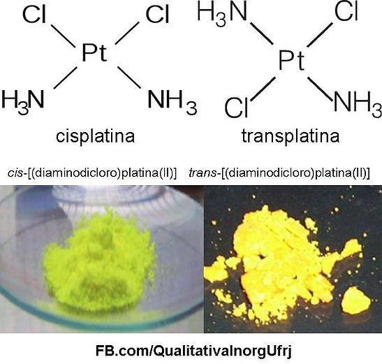 Cisplatina e Transplatina