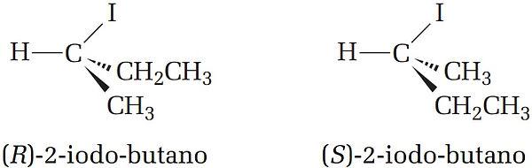 2-iodo-butano estrutura isomeria