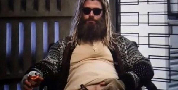 Thor gordo barrigudo