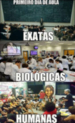 Exatas, Humanas e Biológicas