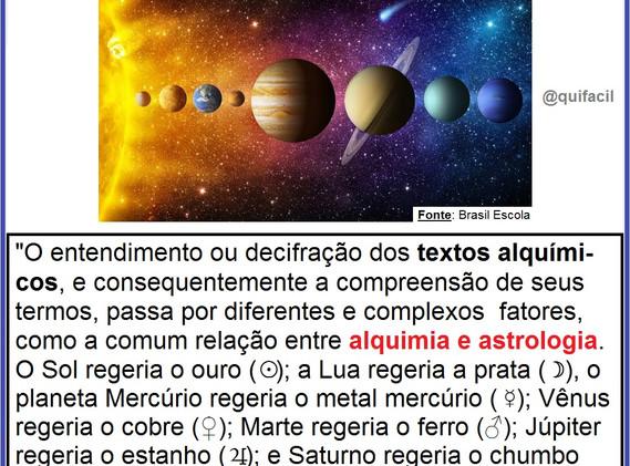 Alquimia e Astrologia