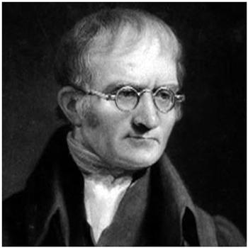 John Dalton foto imagem daltônico