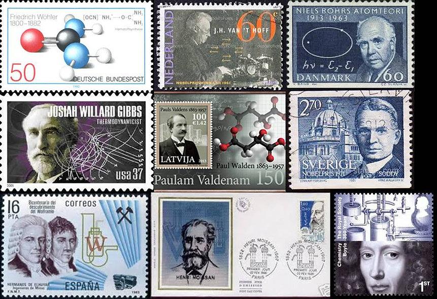 Selos ciência cientistas gibbs friedrich wöhler