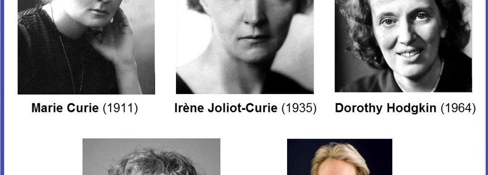 Mulheres Nobel