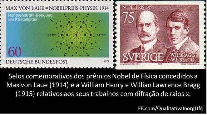 Selos ciência cientistas prêmio nobel