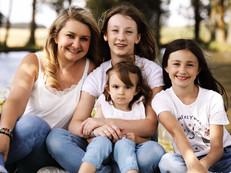 Marion, Léa, Émy et Anna