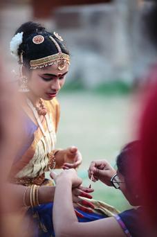 Danse traditionnelle au temple de Brihadesvara