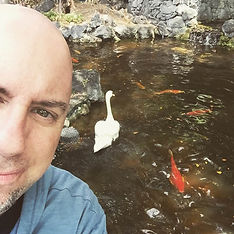 Brian and swan
