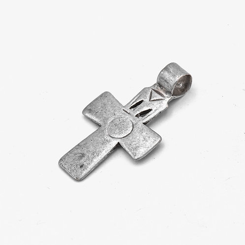 ANTIQUE ETHIOPIAN SILVER CROSS