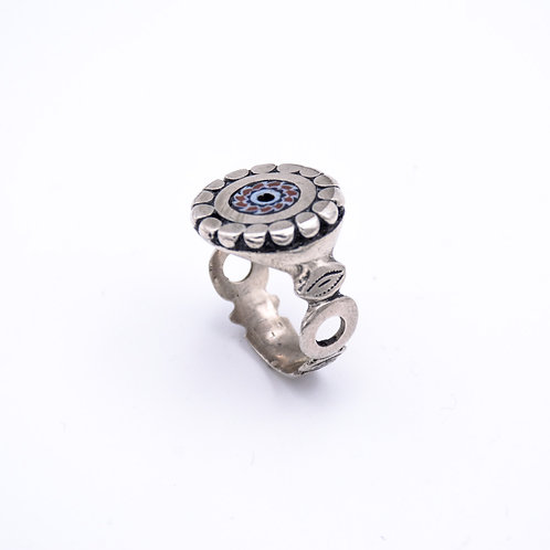 MOROCCAN SILVER RING