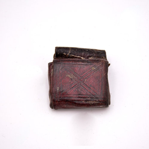 OLD ETHIOPIAN LEATHER TALISMAN