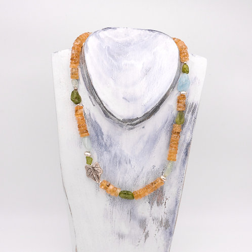 CITRINE MIXED NECKLACE