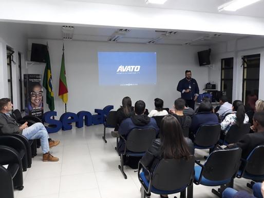 ÁVATO partilha conhecimento com estudantes do Senac