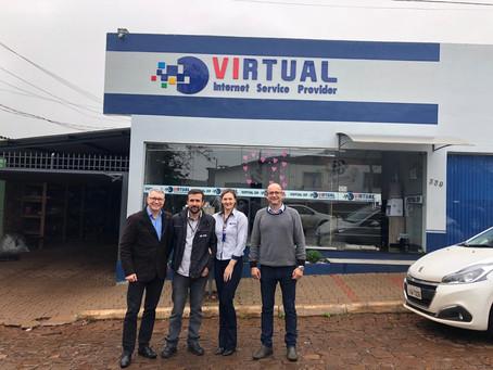 Fusão com Virtual ISP amplia área de cobertura da Ávato na região de Jóia