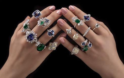 Gemsmiths Derbyshire diamond ring sapphi