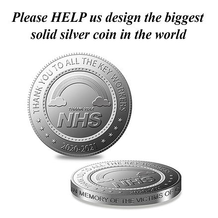 NHS covid coin design covid coin covid 1
