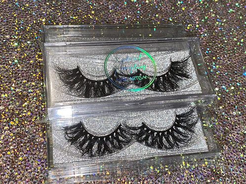 "7D LUX 25mm Mink Lashes "" CRY BABY"" X82"