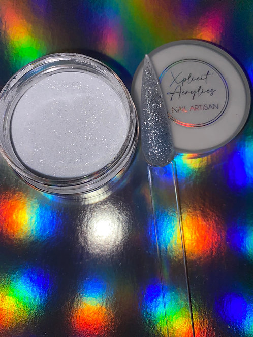 "XA Glitter Acrylic ""SECRET LOVE "" 1 oz"