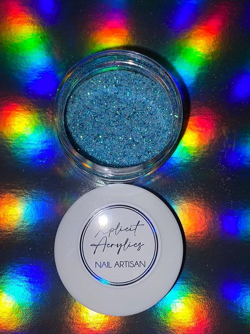 "XA-clusive "" IVY BLUE "" Loose Glitter 1 oz."