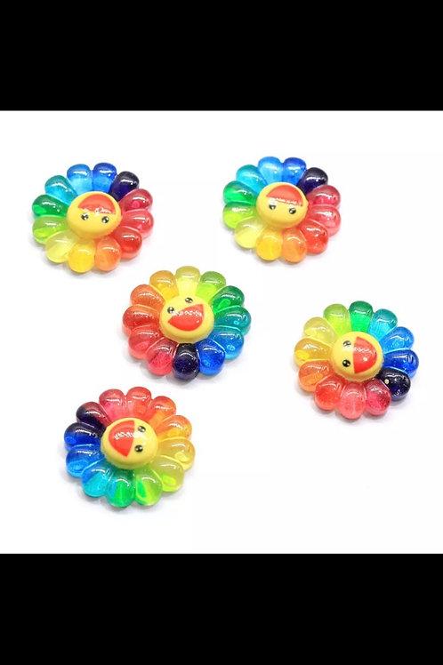 XA T. Murakami 3-D Nail Art Flower (2 pieces)