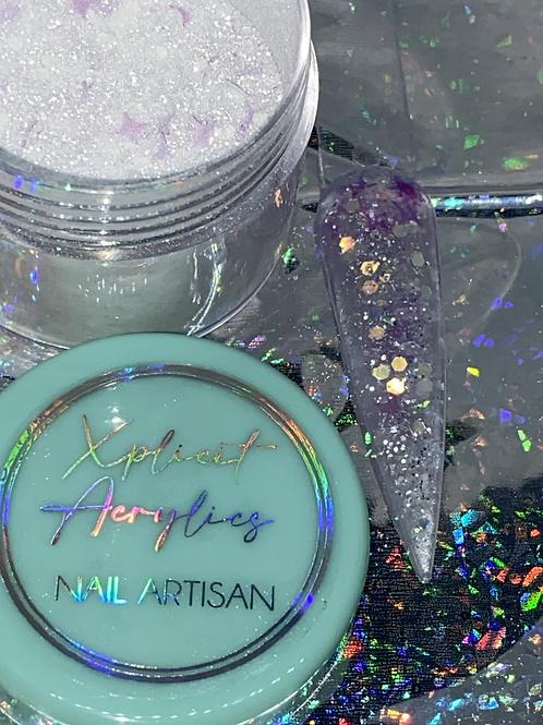 "XA Glitter Acrylic ""QUEEN DIVA"" 20 grams"