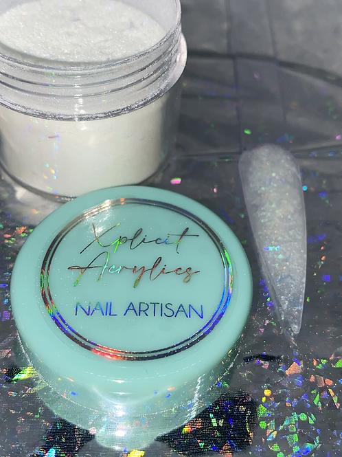 """XA Glitter Acrylic """" FUN GIRL """" 20 grams (Glows)"""