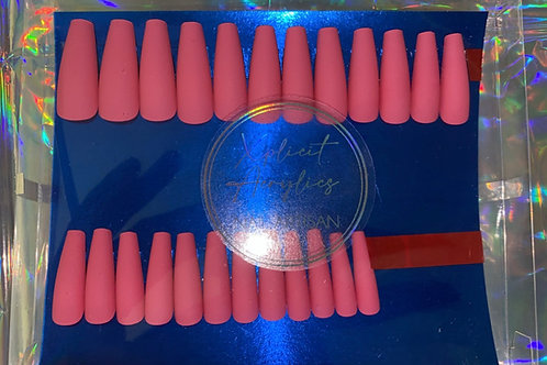 "The XA ""MATTE MATTEL"" Press On Nails"