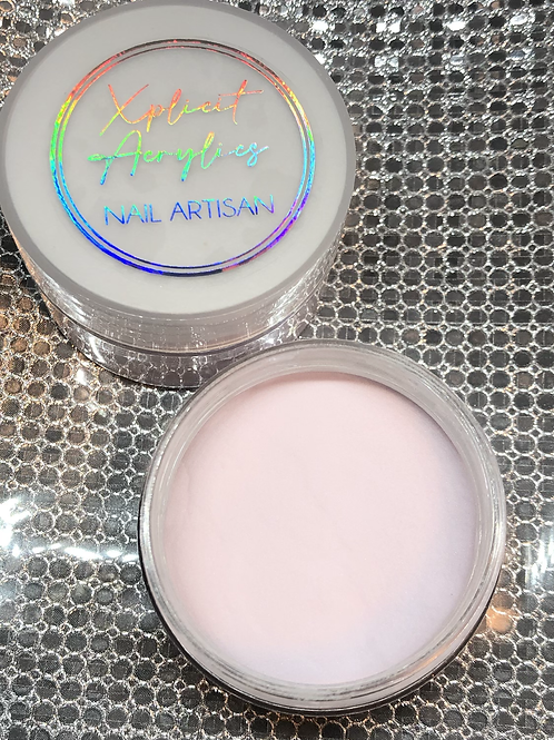 "XA Glitter Acrylic "" PINK PASTRY "" 1 oz"