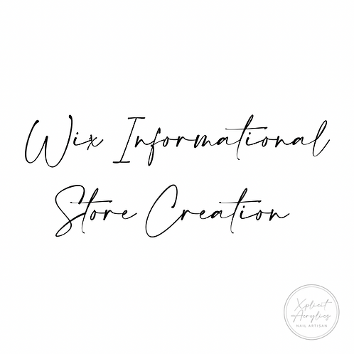 Informational Website Creation