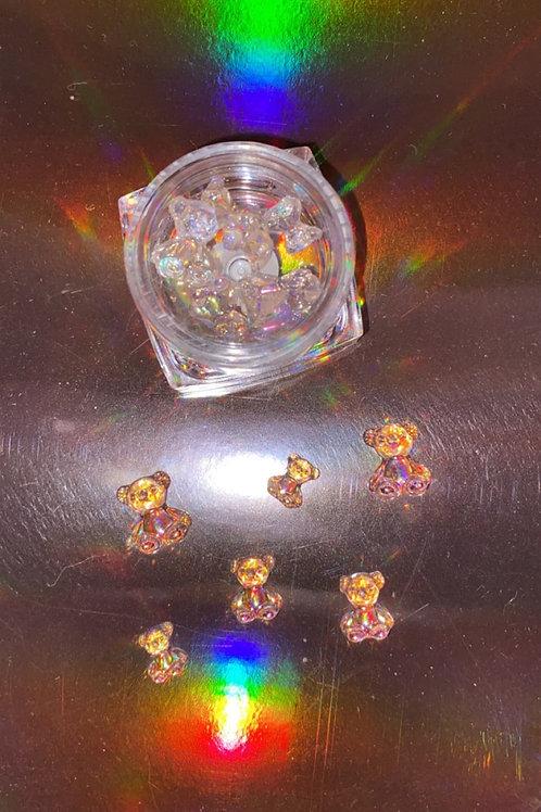 """The XA Mini """" Baby Bear """" Charm Box"""