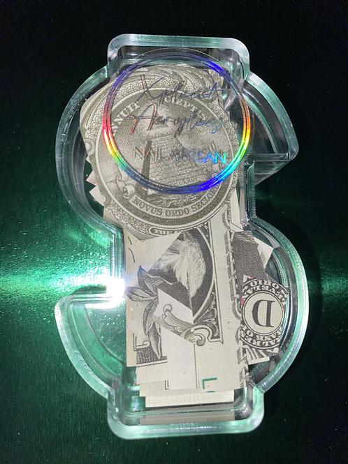 "XA  ""Money Made"" pre-cut fake money"