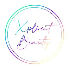Xplicit Beauty Logo White Background WEB