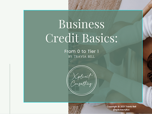 Ebook: Business Credit Basics: From 0 to Tier 1