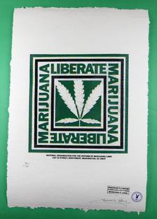 "NORML ""Liberate Marijuana"" Print"