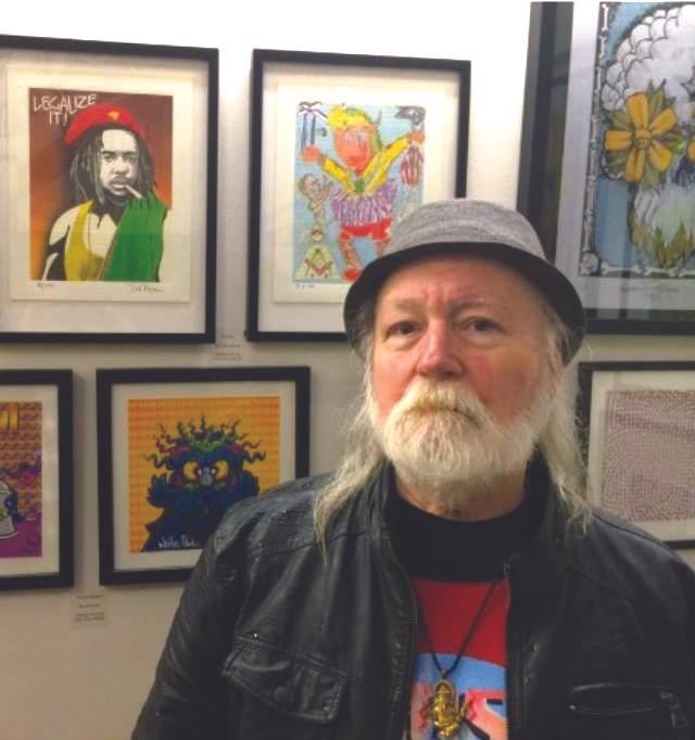 Counterculture artist Pat Ryan.