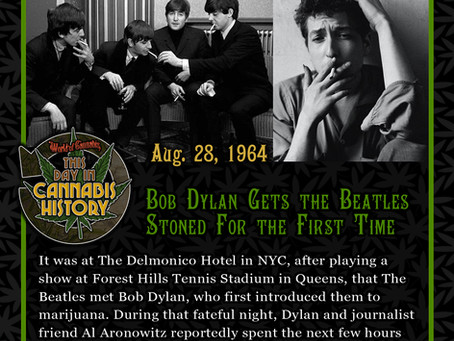 August 28, 1964 - Bob Dylan Gets the Beatles Stoned for the First Time