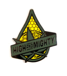 """High and Mighty"" Hat Pin"