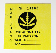 Oklahoma Marijuana Tax Stamp