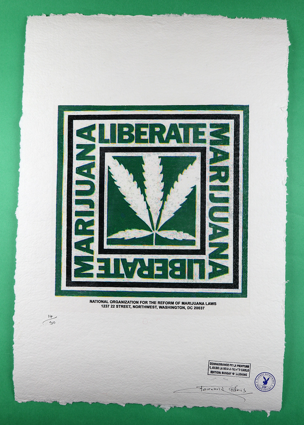 NORML / Playboy Art Print