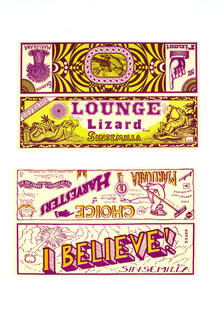 """Lounge Lizard"" / ""I Believe!"" Sinsemilla Labels"