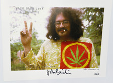 Signed John Sinclair Photo Print - Hash Bash 1968