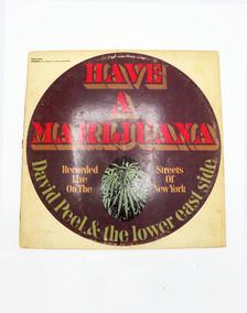 """Have a Marijuana"" Vinyl Album"