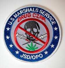 U.S. Marshals Service Drug Czar Patch