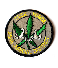 216th Judicial District Task Force Patch